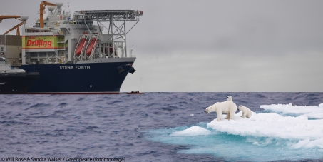 Stop Swedish company Stena from investing in arctic oil drilling