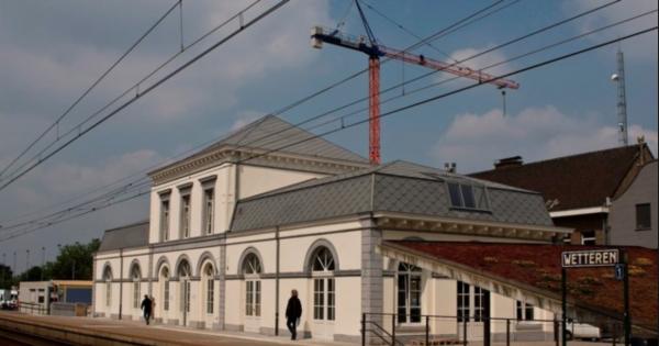 Herstellen van dienstverlening in station Wetteren