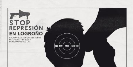 Retirada de cargos a los detenidos del 14N en Logroño