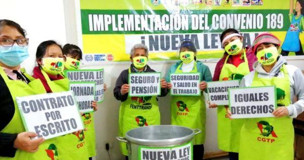 ALERTA CONGRESO DEL PERÚ:  URGE #LEYDETRABAJADORASDELHOGAR #AHORA   #SERA LEY