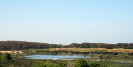 La remise en eau du lac de Dar Bouazza