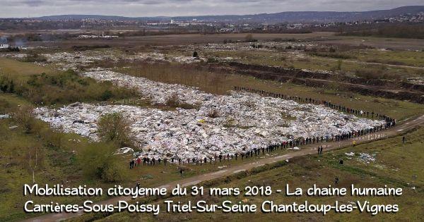 M. le Ministre d'État, Ministre de la Transition écologie et solidaire, sauvez la plaine de Carrières, Triel, Chanteloup