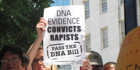 Pass DNA Legislation in South Africa