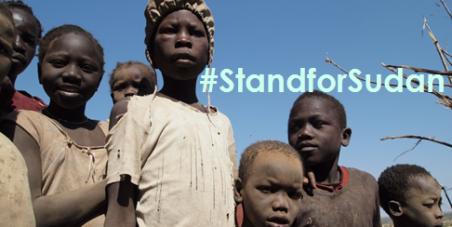 #StandforSudan