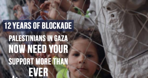 Demand Lifting Gaza Blockade. وقع للمطالبة برفع حصار غزة