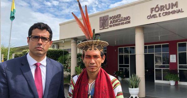 Liderança indígena Benki Ashaninka, defensor dos direitos humanos e ativista ambiental, está sendo acusado injustamente!