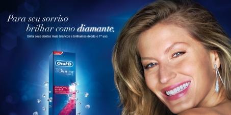 Gisele Bündchen: Não colabore com a poluição das águas fazendo propaganda da Oral-B 3D White