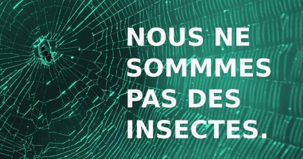 Nous ne sommes pas des #moustiques