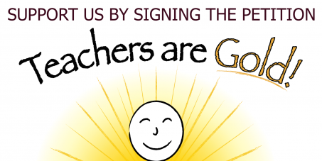 Christopher Pyne –Education Minister: We support the 'Teachers are Gold!' project