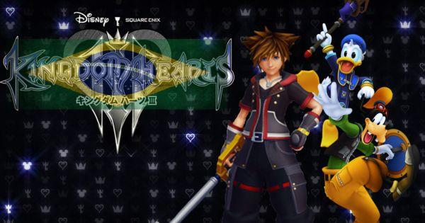 """Square Enix CO.: Translation PT-BR """"Brazilian Portuguese for Kingdom Hearts 3"""""""