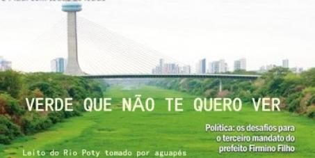 Exigimos o tratamento prévio dos resíduos dos esgotos despejados no Rios Poty e Parnaíba, cidade de Teresina(PI).
