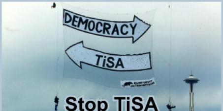 An die Österreichische Bundesregierung/Nationalrat: Stop aller Maßnahmen zur Umsetzung von TiSA in Österreich