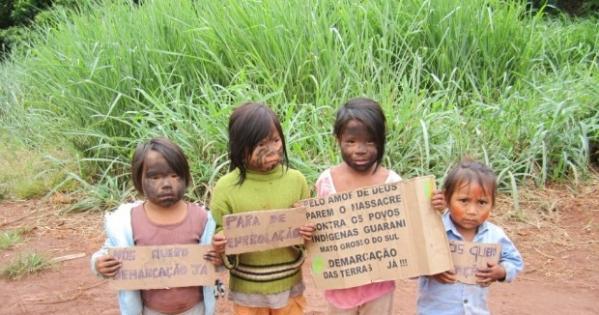ONU (Organização das Nações Unidas): Acabe com o massacre dos Povos Indígenas no Mato Grasso do Sul!