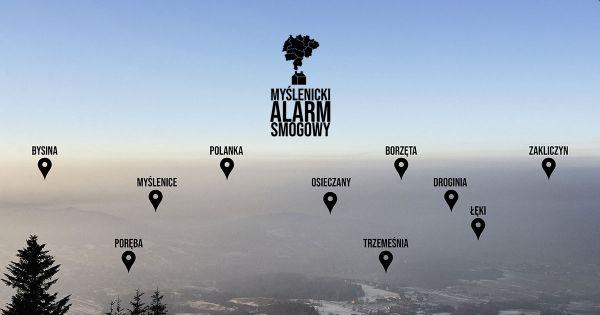 Chcemy oddychać! Petycja o podjęcie pilnych działań anty-smogowych w Gminie Myślenice.