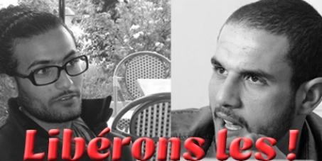 Les autorités Algérienne : Libération de Mohand Kadi et Moez Benncir