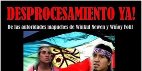 Al Mundo: Despenalizacion de la Comunidad Mapuce Winkul Newen
