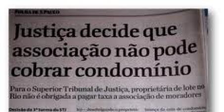 PELO FIM DOS FALSOS CONDOMÍNIOS