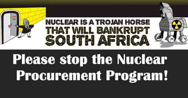 The South African Government: Stop the South African Nuclear Procurement Program