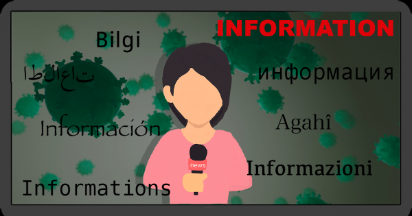 Coronavirus: Forderung nach einer mehrsprachigen Berichterstattung im Fernsehen/Rundfunk