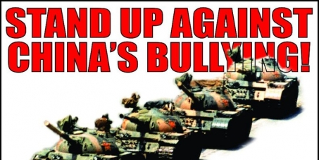 STOP CHINA'S ILLEGAL OCCUPATION ON THE THE PHILIPPINES, VIETNAM, INDIA, TIBET, and JAPAN
