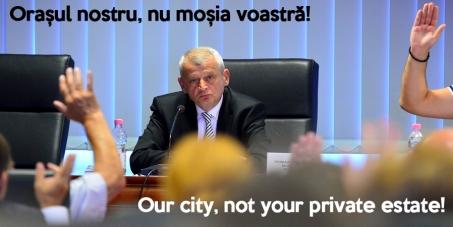 Orașul nostru, nu moșia lor