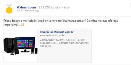 Walmart Brasil: Queremos o prometido pelo qual foi comprado.