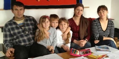 Österreich ist neue Heimat für Familie Khaiatov