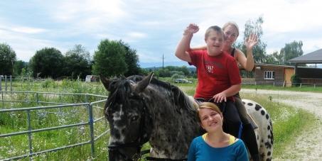 Kostenübernahme von Heilpädagog. Reiten für Behinderte in der Steiermark