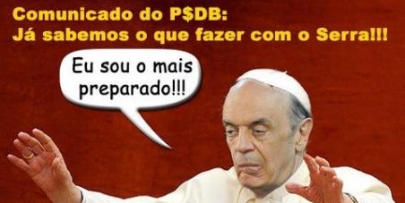 José Serra para Papa