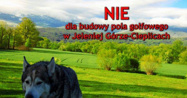 Wstrzymanie budowy pola golfowego w Jeleniej Górze - Cieplicach