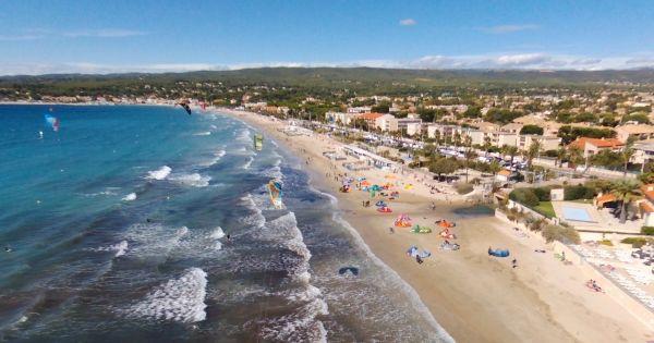 Saint Cyr sur Mer: A 6ans des Jeux Olympiques en France soutenez le Kitesurf à Saint Cyr/Mer