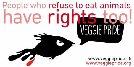 Respect of the rights of vegans and vegetarians