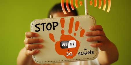STOP WIFI IN SCHOOLS WORLD WIDE