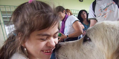 Reapertura del Servicio de Zooterapia del Parque Roca