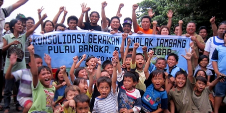 Reject Mining on Bangka Island for the Benefit of the People!