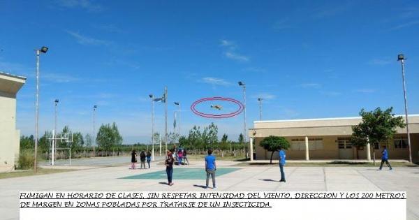 Al Gobierno de Mendoza: NO a las FUMIGACIONES AEREAS con agro tóxicos en Mendoza, Argentina