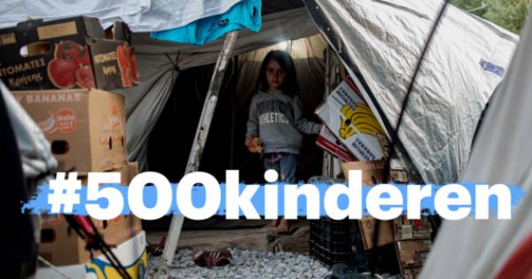Bied vluchtelingenkinderen uit Griekenland een veilige plek.