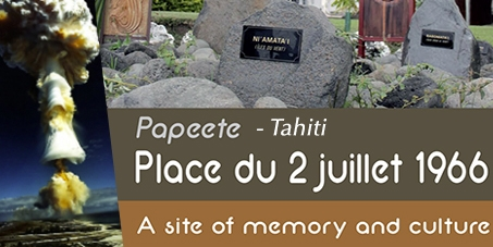 Don't destroy the monument of the victims of nuclear tests in French Polynesia