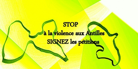 Ensemble contre la violence aux Antilles, c'est a nous de faire changer les choses