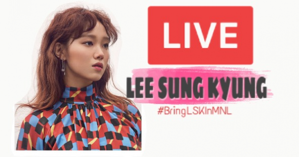 YG Entertainment: Lee Sung Kyung LIVE! in MANILA, PH