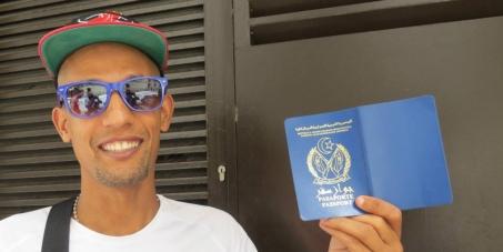 Que Salah Amaidan, atleta saharaui, PUEDA ENTRAR A SU PAÍS, Sahara Occidental, y visite a su padre gravemente enfermo