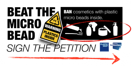 BAN cosmetics with plastic micro beads inside.
