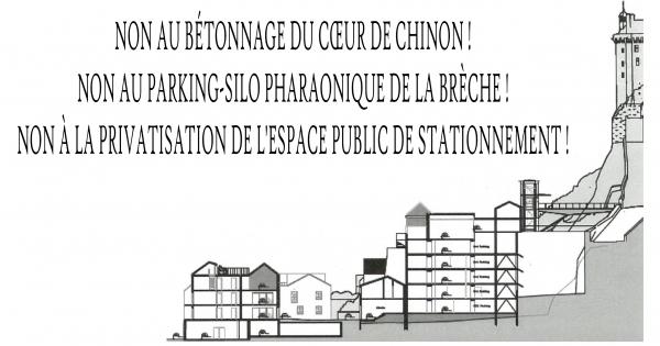 NON au projet gigantesque de Chinon- Brèche - Cœur de ville!