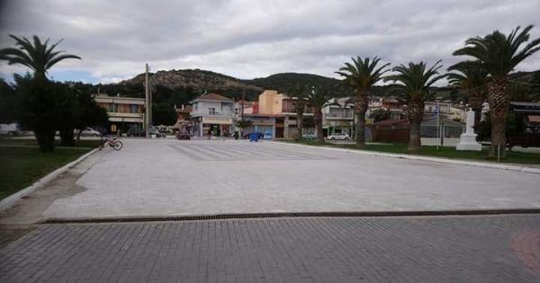 Οι κάτοικοι Ν. Περάμου λένε όχι στην μετατροπή της κεντρικής πλατειας σε πάρκινγκ.