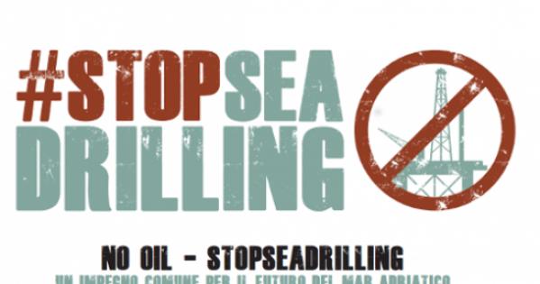 Basta trivelle nei nostri mari!