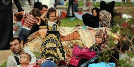 Les réfugiés syriens sont sauvés