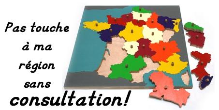 François Hollande: Pas touche à ma région sans consultation!
