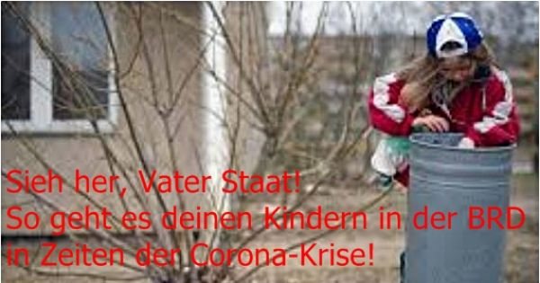 Corona-Epidemie: 1500€-Not-Geld-Schecks für Hilfsbedürftige (alle außer Beamte und Reiche)