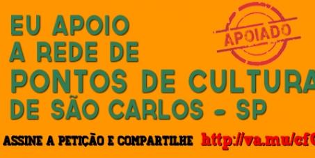 Apoio à Rede Municipal de Pontos de Cultura de São Carlos - SP (Brasil)