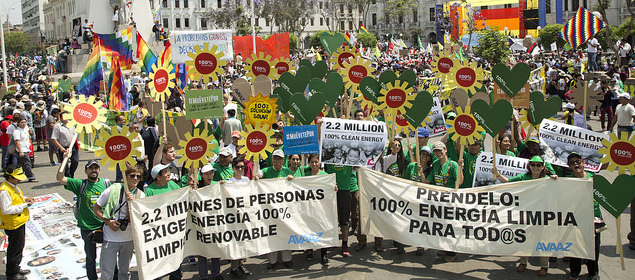 Avaaz GLOBAL CLIMATE MARCH